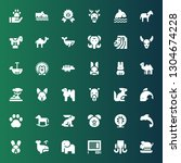 mammal icon set. collection of...   Shutterstock .eps vector #1304674228