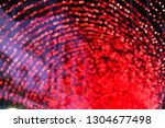 red  pink and black bokeh at... | Shutterstock . vector #1304677498