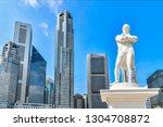 singapore   october 3 2018  ... | Shutterstock . vector #1304708872