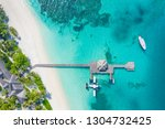 beautiful aerial view of...   Shutterstock . vector #1304732425