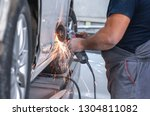 repair service worker fix... | Shutterstock . vector #1304811082