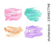 hand painted backgrounds for...   Shutterstock .eps vector #1304817748