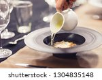 soup from dehydrated... | Shutterstock . vector #1304835148