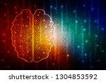 2d illustration concept of... | Shutterstock . vector #1304853592
