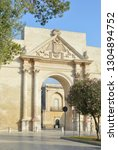 lecce  italy. the flowers of... | Shutterstock . vector #1304894752