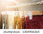 fashion   clothes  concept ... | Shutterstock . vector #1304906365