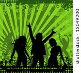illustration on a musical theme ... | Shutterstock .eps vector #13049200