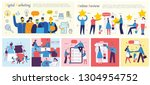 vector illustrations of the... | Shutterstock .eps vector #1304954752