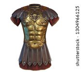 Roman Armor 3d Illustration...