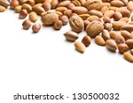 The Various Nuts On White...