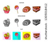 isolated object of... | Shutterstock .eps vector #1305018412