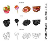 isolated object of... | Shutterstock .eps vector #1305018418