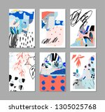 collection of creative... | Shutterstock .eps vector #1305025768