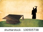 Vintage Graduation Day Concept. ...