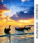 Traditional Thai Boats At...
