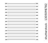 police lineup or mugshot... | Shutterstock .eps vector #1305098782