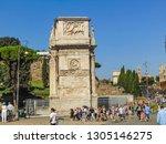 rome  italy   september 2018 ... | Shutterstock . vector #1305146275