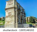 rome  italy   september 2018 ... | Shutterstock . vector #1305148102