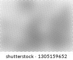 grunge halftone background ...   Shutterstock .eps vector #1305159652