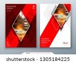 brochure template layout design.... | Shutterstock .eps vector #1305184225