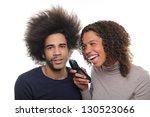 happy couple | Shutterstock . vector #130523066