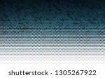 light blue vector seamless... | Shutterstock .eps vector #1305267922