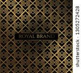 luxury premium background with... | Shutterstock .eps vector #1305272428