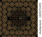 luxury premium background with... | Shutterstock .eps vector #1305272455