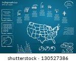 detail infographic vector... | Shutterstock .eps vector #130527386