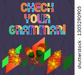 word writing text check your... | Shutterstock . vector #1305290905