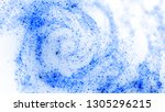 abstract white background with...   Shutterstock . vector #1305296215