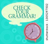 handwriting text check your... | Shutterstock . vector #1305297502
