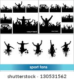 advertising banners for sports... | Shutterstock .eps vector #130531562