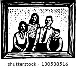 black and white vector... | Shutterstock .eps vector #130538516