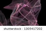fantasy chaotic colorful... | Shutterstock . vector #1305417202