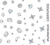 dark blue vector seamless cover ... | Shutterstock .eps vector #1305419332