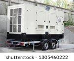 standby power natural gas... | Shutterstock . vector #1305460222