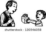 black and white vector... | Shutterstock .eps vector #130546058