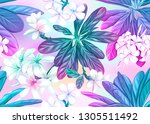 seamless pattern  background... | Shutterstock .eps vector #1305511492