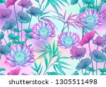 seamless pattern  background... | Shutterstock .eps vector #1305511498
