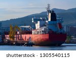 oil or chemical tanker in a... | Shutterstock . vector #1305540115