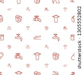 take icons pattern seamless... | Shutterstock .eps vector #1305552802