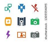 photographer icons. trendy 9...   Shutterstock .eps vector #1305554095