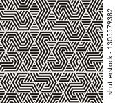 vector seamless trendy pattern. ... | Shutterstock .eps vector #1305579382