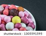 chewing gum  candies of... | Shutterstock . vector #1305591595
