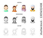 vector design of imitator and... | Shutterstock .eps vector #1305652438