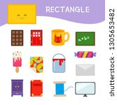 materials for kids learning... | Shutterstock .eps vector #1305653482