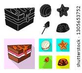 vector design of confectionery... | Shutterstock .eps vector #1305653752
