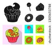 vector illustration of... | Shutterstock .eps vector #1305653788