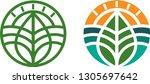 logo for agribusiness.... | Shutterstock .eps vector #1305697642